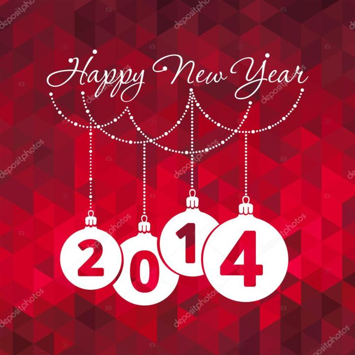 Happy New Year Greeting Cards.6 Animated New Years Greeting Cards 2014