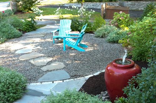 Less Lawn More Garden eclectic landscape