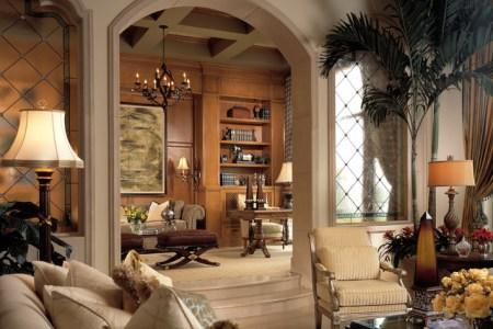 mediterranean living room