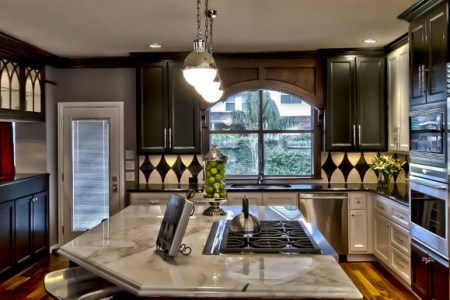 """""""new orleans themed"""" kitchen and baths transitional"""