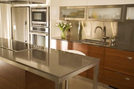 contemporary kitchen countertops