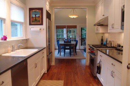 small galley style kitchen design ideas | trend home