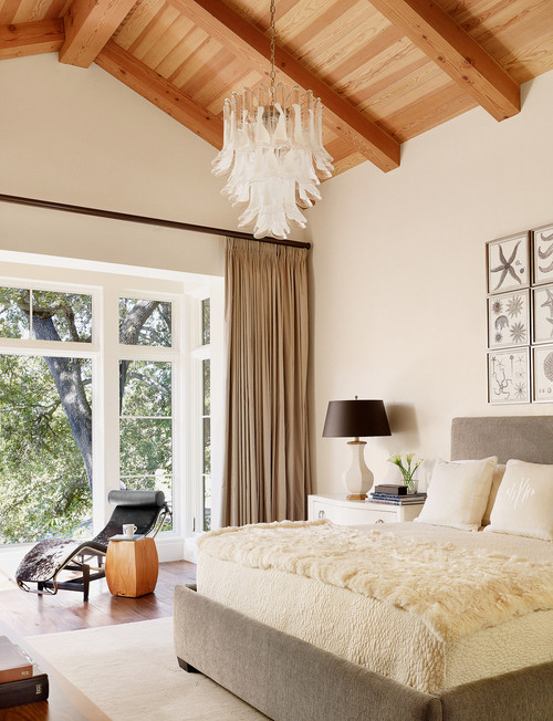 contemporary bedroom Chandelier Inspiration for the Home