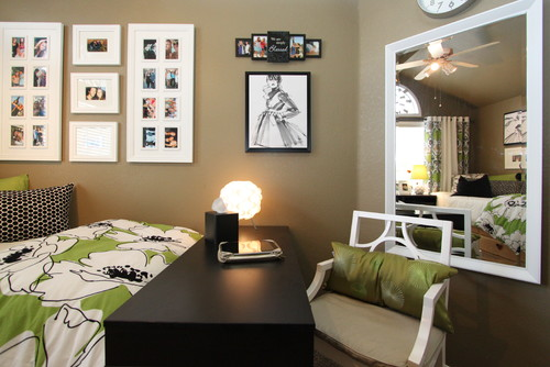 modern bedroom Lighting ideas for a dorm room