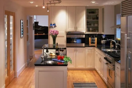narrow kitchen layout home design ideas, pictures, remodel