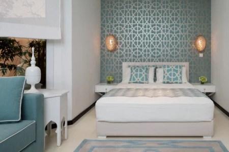 mediterrane schlafzimmer mit linoleumen ideen