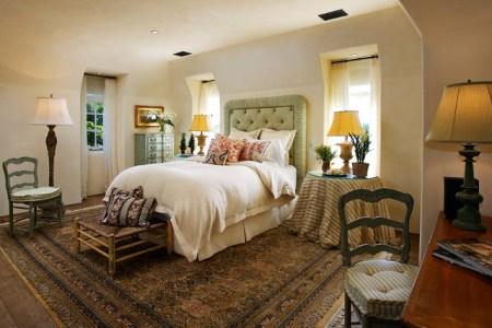 french country style mediterran schlafzimmer santa