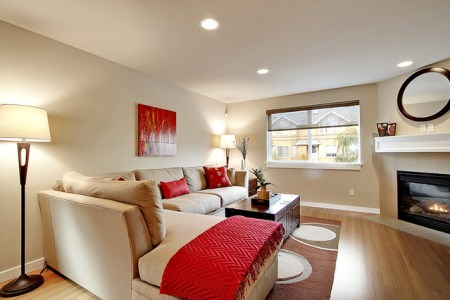 townhouse living room modern living room seattle