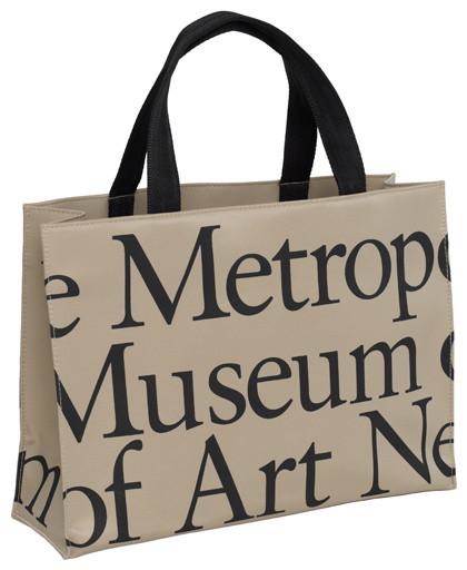 The Metropolitan Museum of Art Logo Horizontal Tote