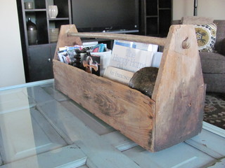 Tool Box Storage eclectic-family-room