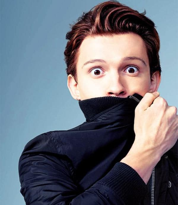 VIDEO ALERT  When Tom Holland ACCIDENTALLY released the Avengers      VIDEO ALERT  When Tom Holland ACCIDENTALLY released the Avengers  Infinity  War poster and