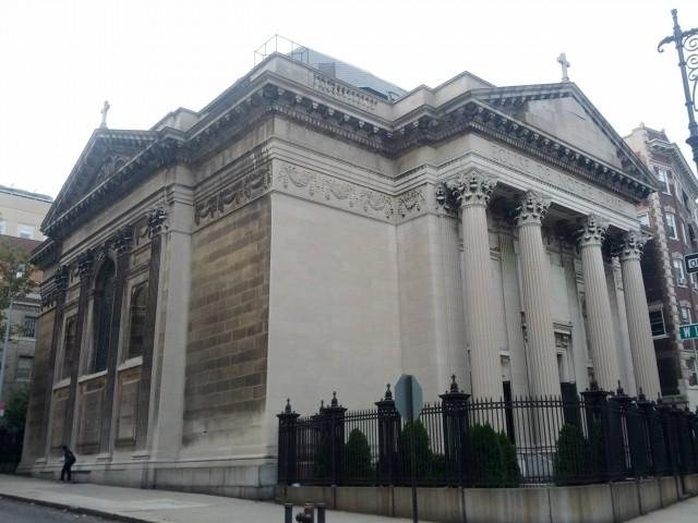 Iglesia de Notre Dame en Nueva York (EEUU)