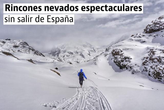 Los paisajes nevados más bonitos de España