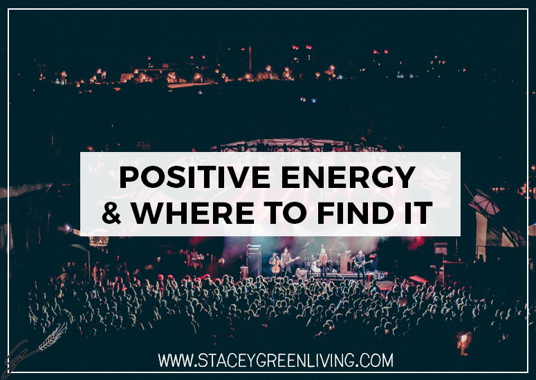 Positive Energy and Where To Find It