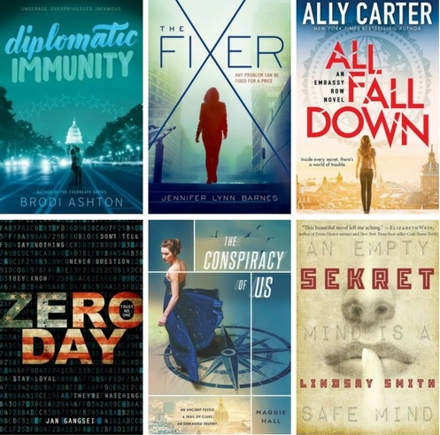 political thrillers cropped