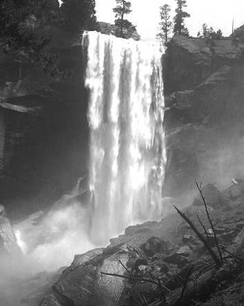 THE LOST NEGATIVES - Close Up of Vernal Falls