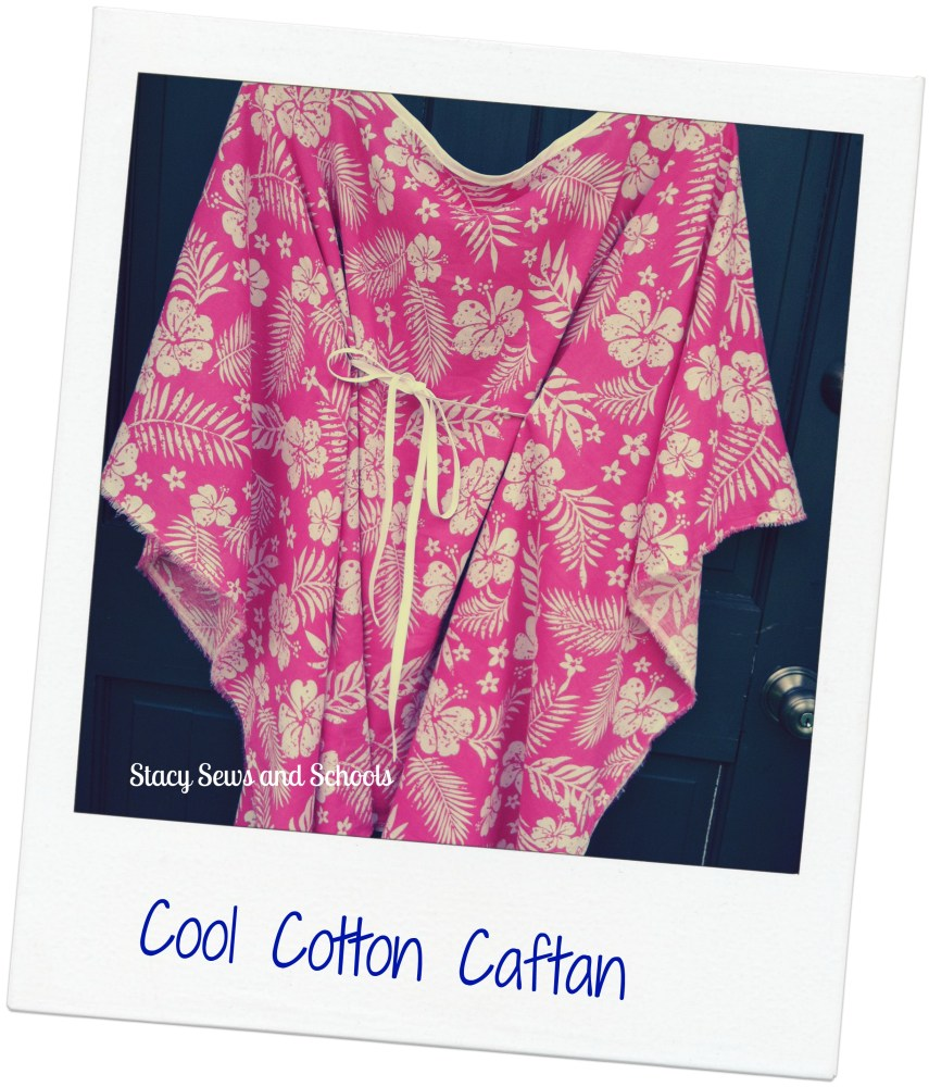 COOL COTTON CAFTAN TUTORIAL (1/6)