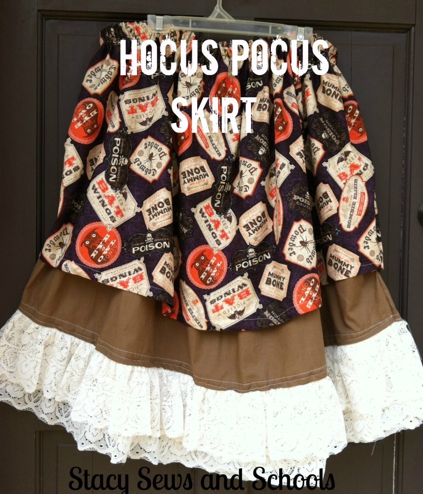 The Hocus Pocus Skirt Tutorial (1/6)