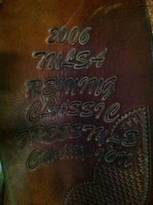 2006 Tulsa saddle