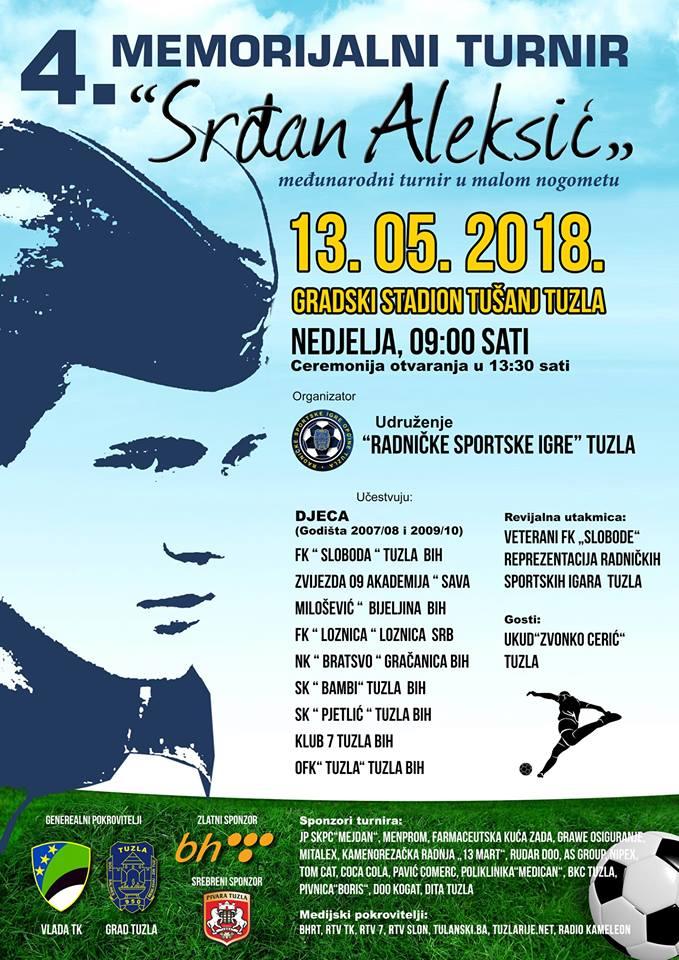 Srdžan Aleksić turnir