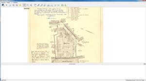 Detaljplanekartan i .pdf-format är nu öppnad i georefereraren.