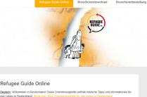 bild von der Webseite Refugee Guide und Link