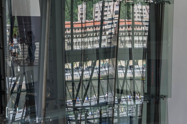 Innenansichten, Fensterfront