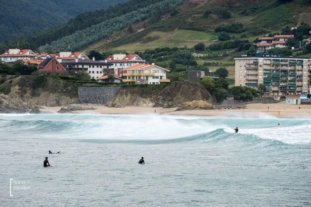 Surfwetter bei Bakio am Atlantik