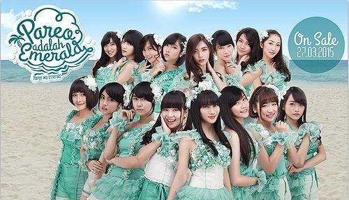 pareo wa emerald jkt48 single