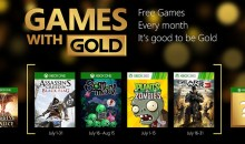 Games with Gold for July on Xbox One and Xbox 360