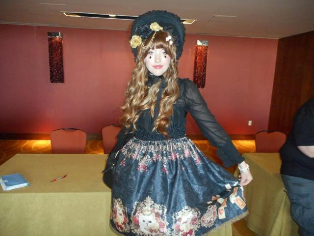 """Afasha is a gothic Lolita inspired by Maddi, """"I strive to look like a painting,"""" she said. """"I'm part of the San Antonio Lolitas. We have tea parties and stuff."""""""