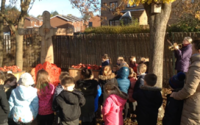 Reception and Nursery's Remembrance Service.