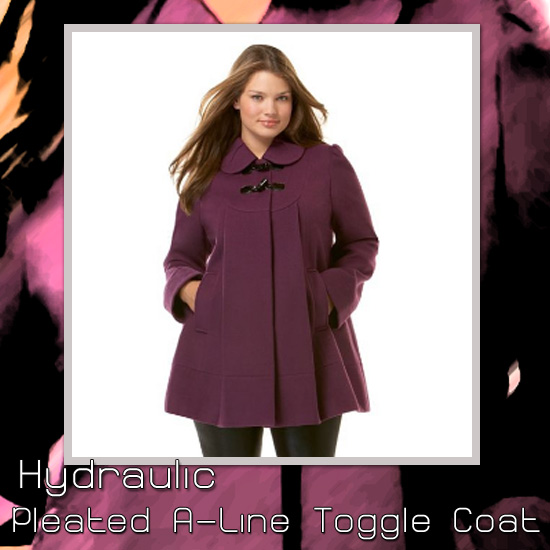 Hydraulic Pleated Toggle Coat