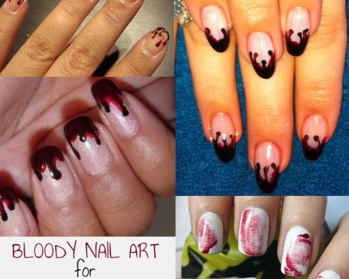 HALLOWEEN: Bloody Nails Artwork