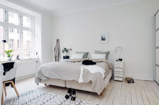 Bedroom-design-in-Scandinavian-style-The-Scandinavians-love-wood-909x606