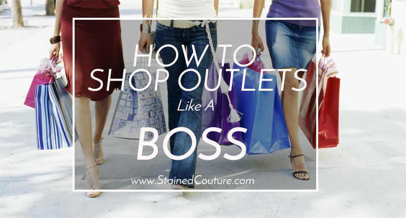 ho to shop at outlets