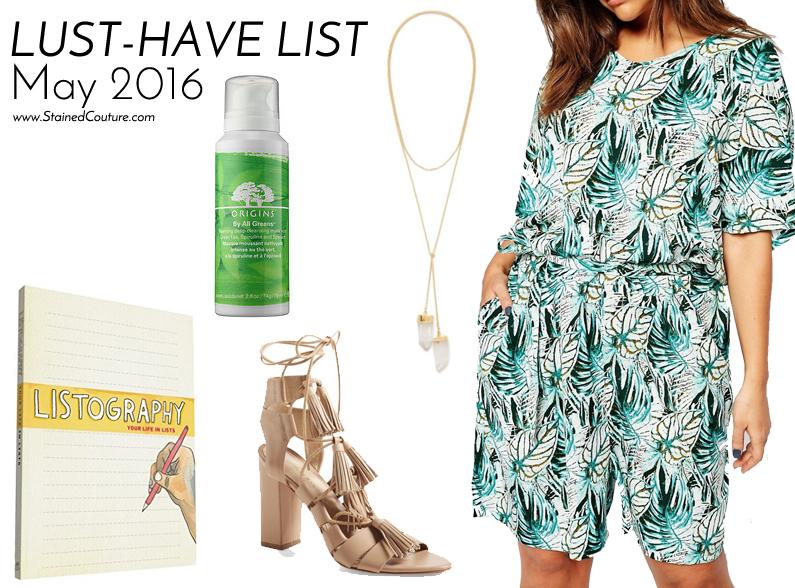 lust-have list