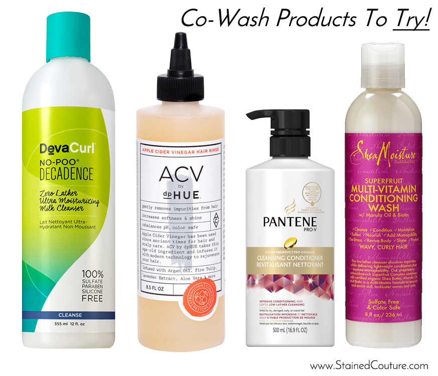 co-wash products