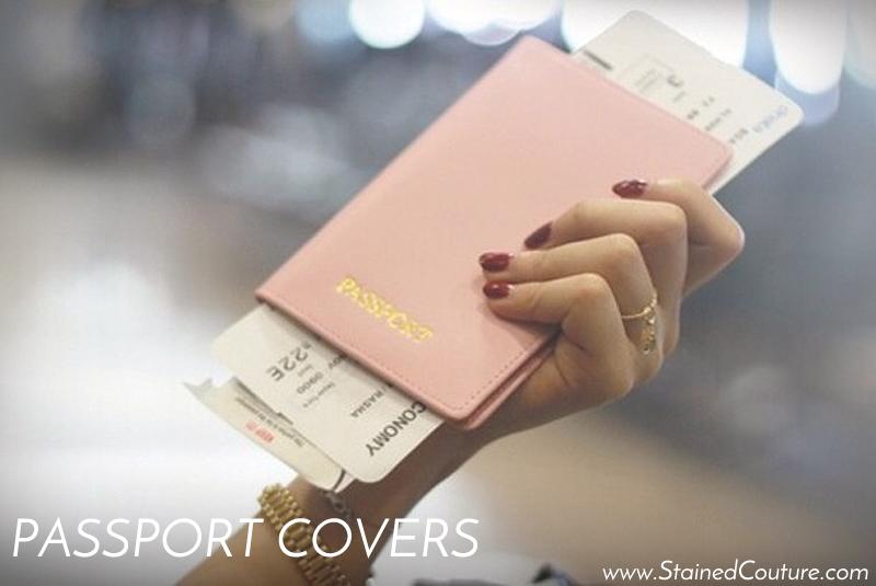 pretty passport covers