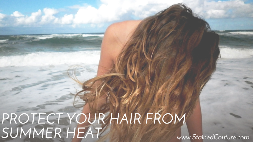 protect hair from sun damage