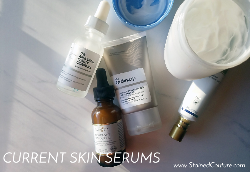 current skin serums