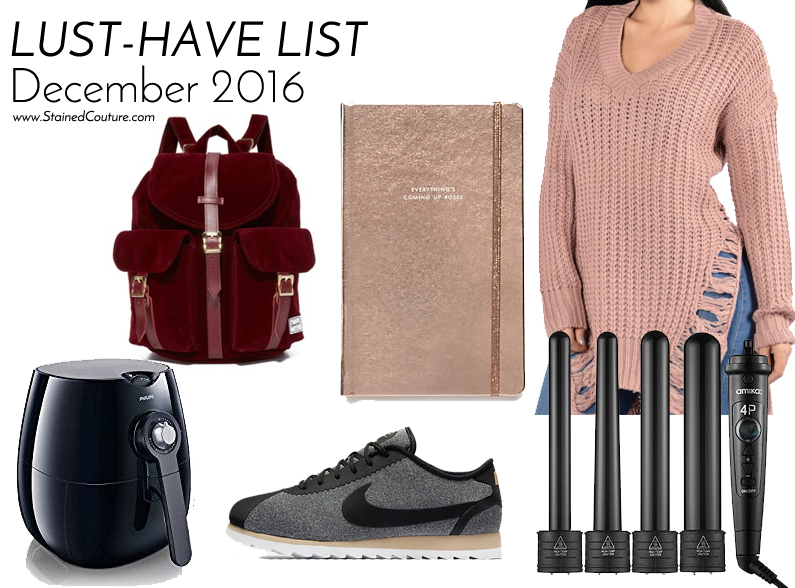lust5-have list december 2016
