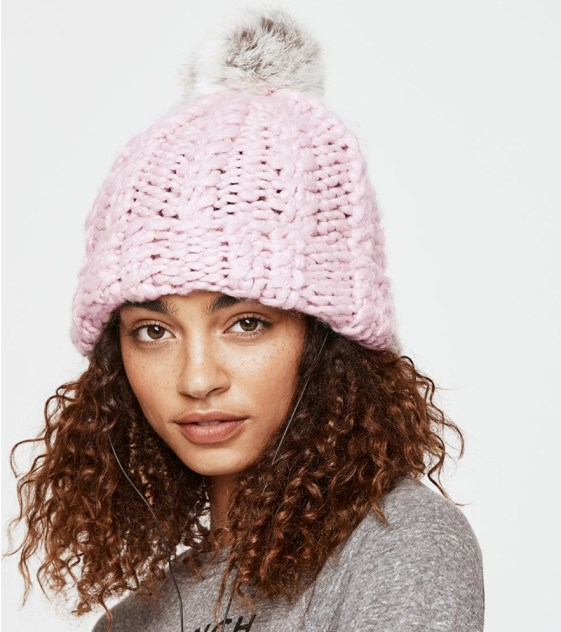 minkoff-cable-knit-beanie