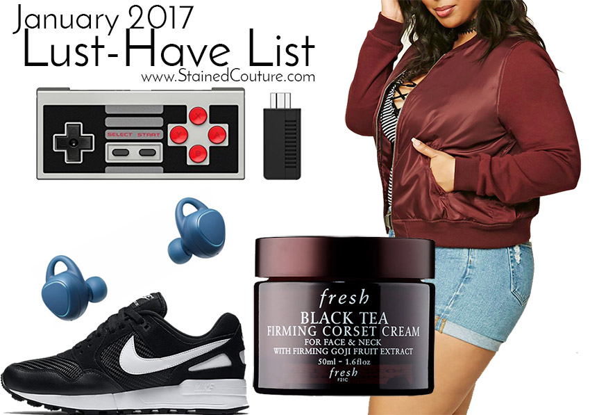 lust-have list january 2017