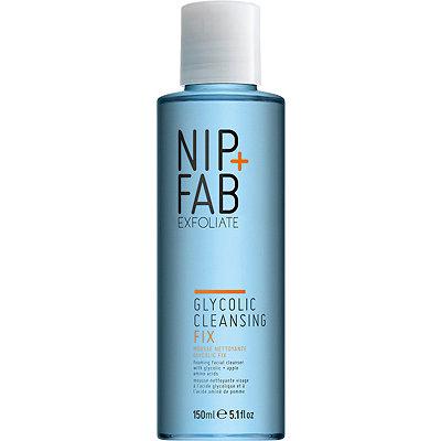 emptied nip+fab glycolic cleanser
