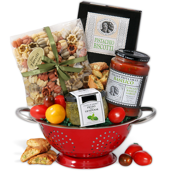italian mother's day gift basket