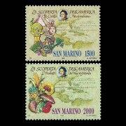 1990-san-marino-1210_1211-columbus-discovery-of-america