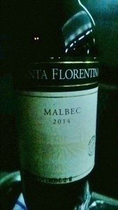 Malbec served with Dinner