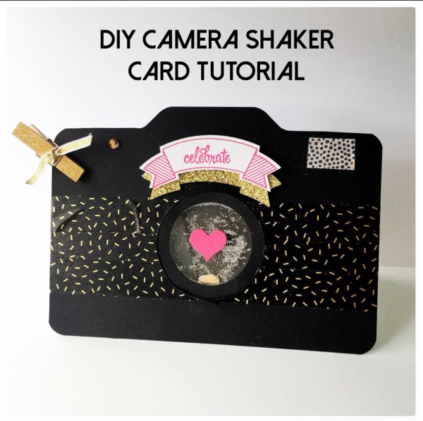 DIY Camera Shaker Card Tutorial from StampinFool.com