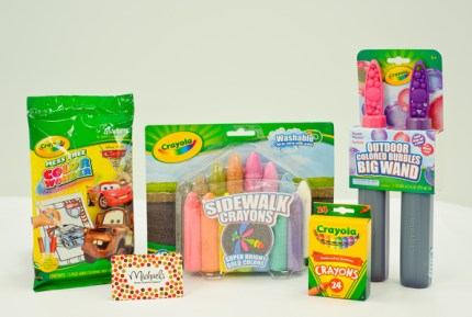 giveaway: crayola ulimate eater baskets
